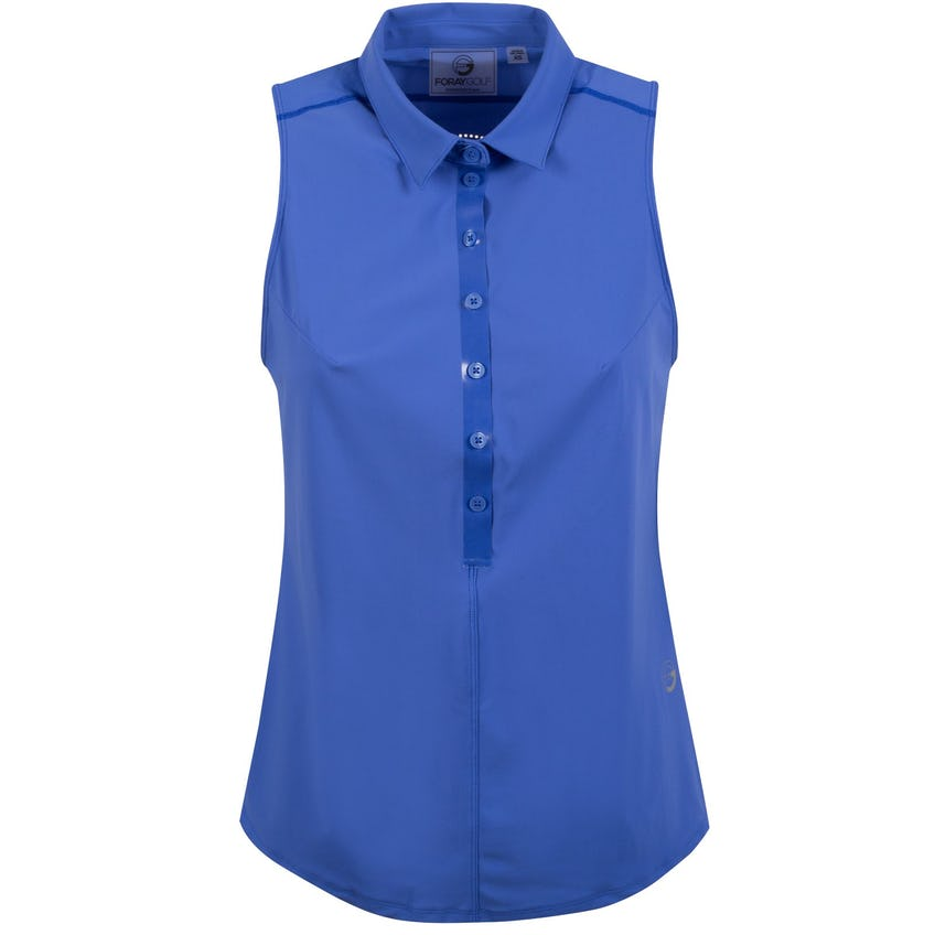 Foray Womens CORE 2.0 Sleeveless Polo Amparo Blue - 2020