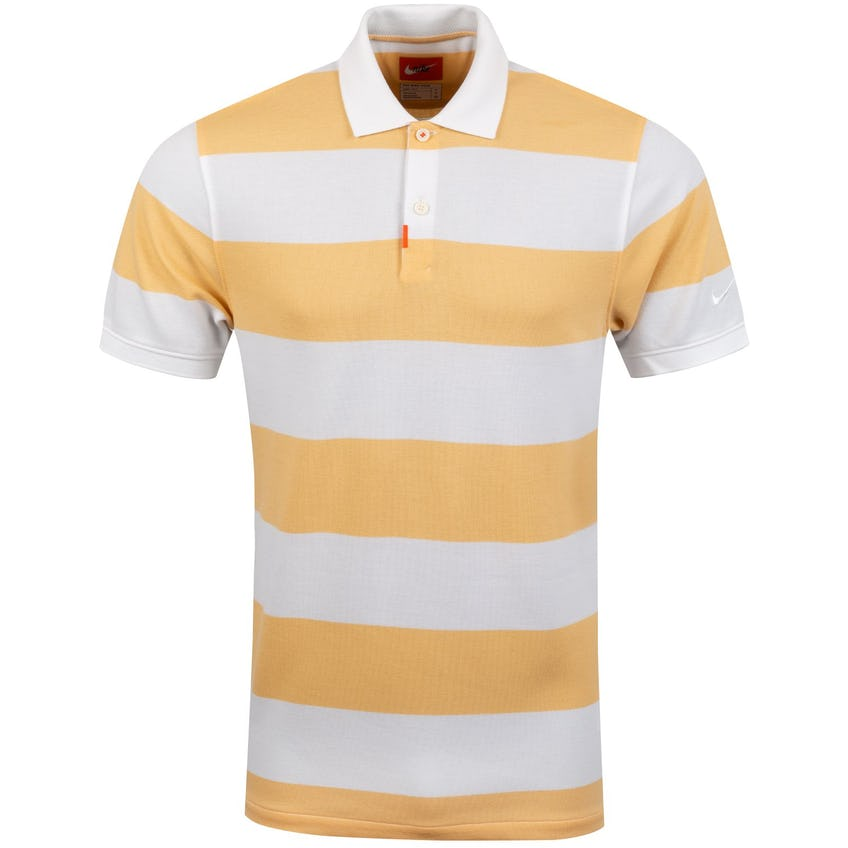 The Golf Stripe Polo Celestial Gold - SS20