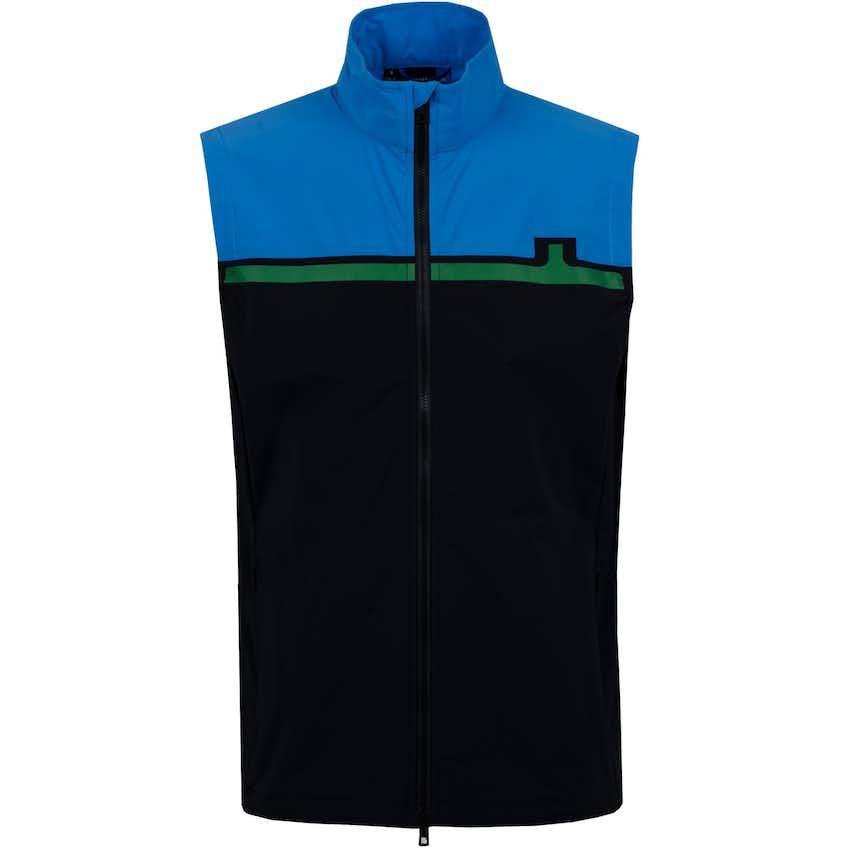 Blocked Lux Softshell Vest Black - SS20
