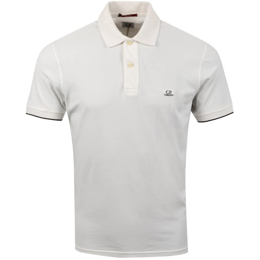 Short Sleeve Polo Gauze White - SS20