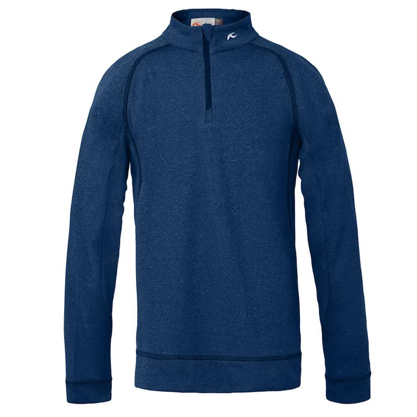 Junior Boys Keano Half Zip Atlanta Blue Melange - 2021