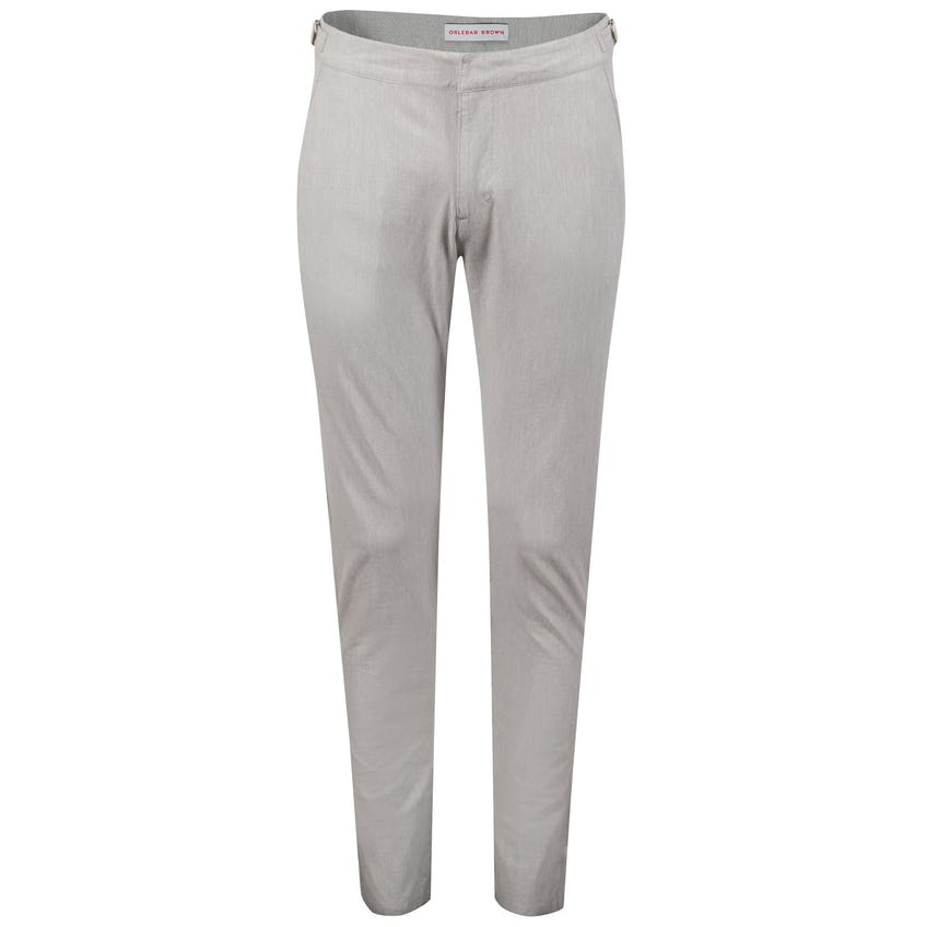 Campbell Fine Stripe Chino Alloy/Cloud - SS20 0