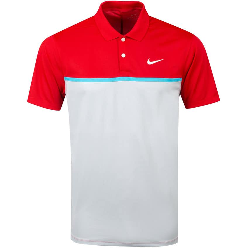 Dry Colourblock Victory Polo University Red - Summer 20