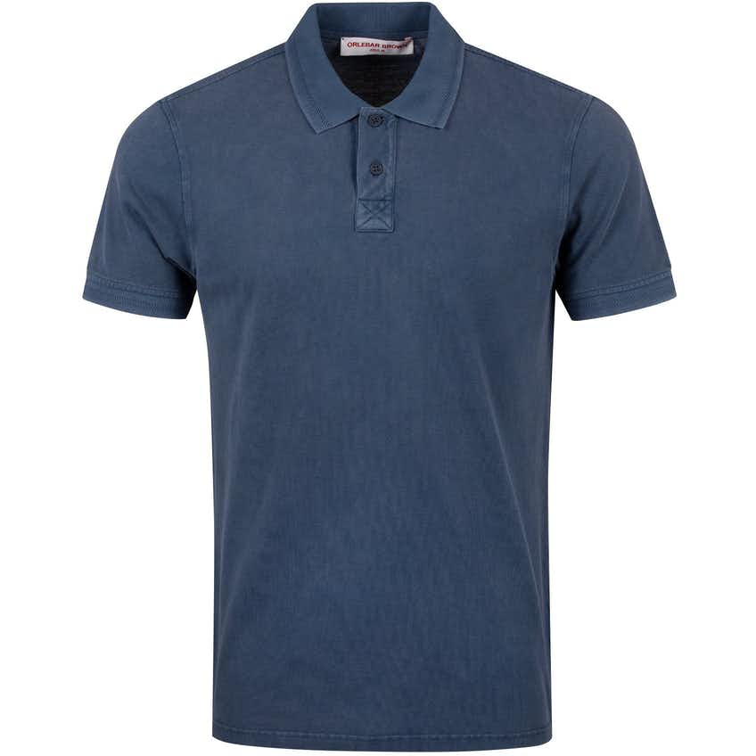 Jarrett Washed Polo Washed Navy - Summer 20
