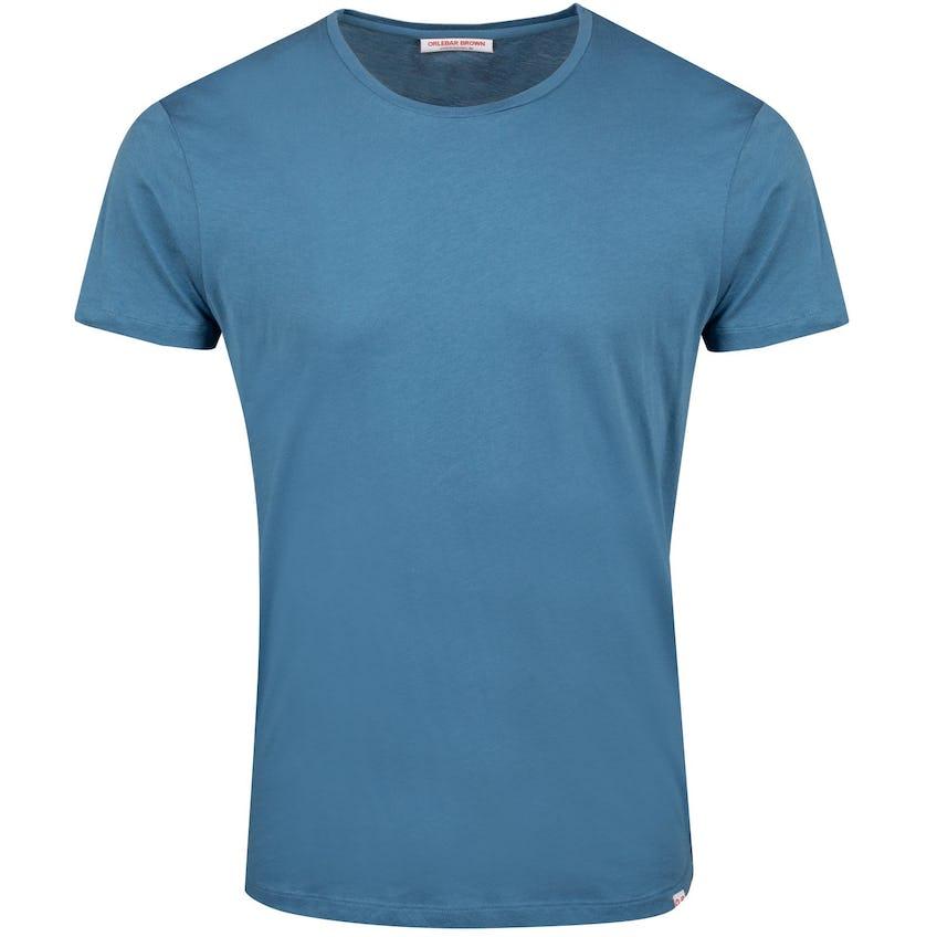 OB-T Round Neck T-Shirt Blue Haze Melange - Summer 20