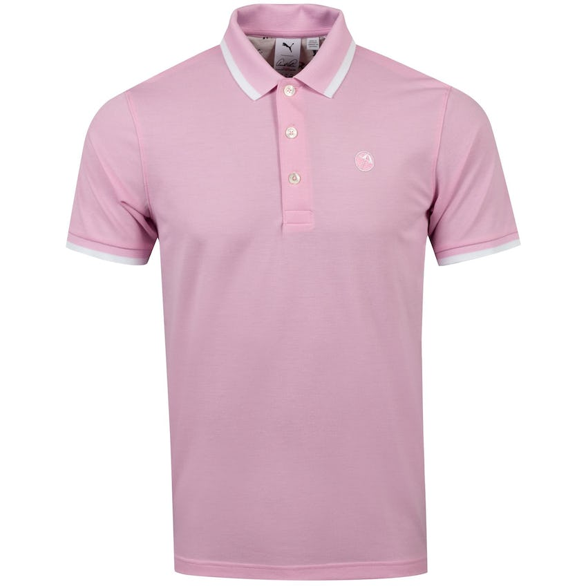 Signature Tipped Polo Pale Pink - SS21