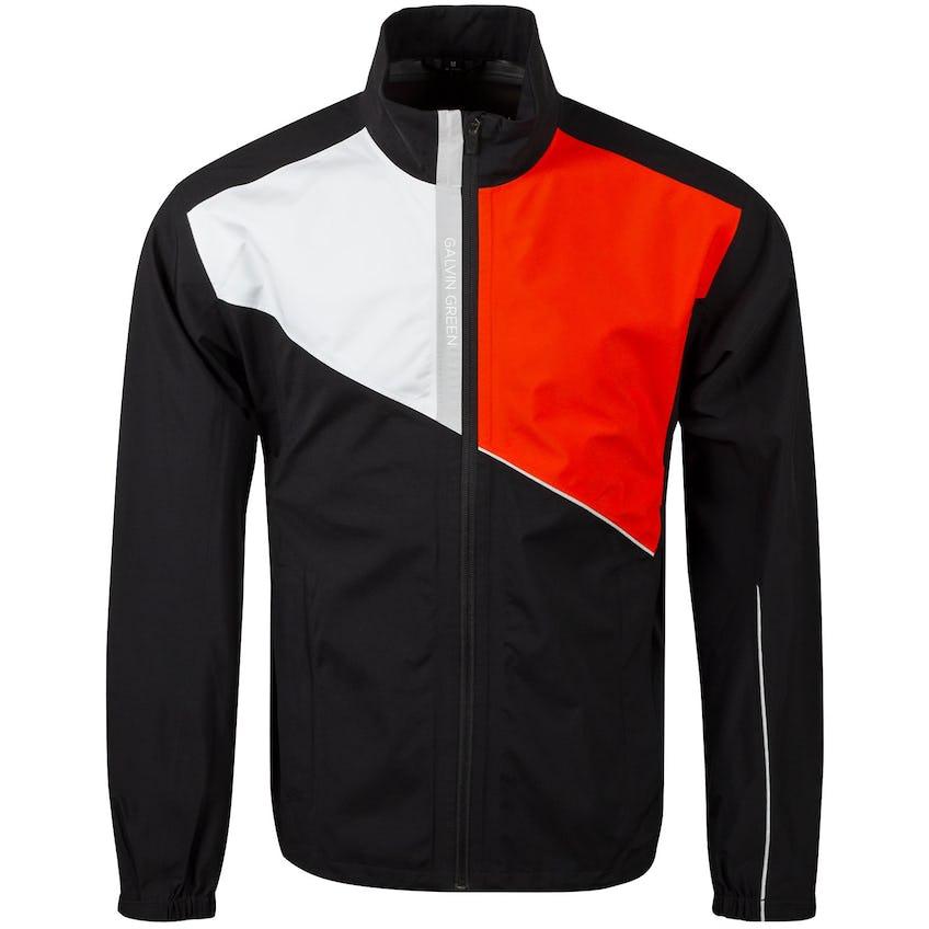 Apollo Gore-Tex Paclite Jacket Black/White/Red Orange/Sharkskin - AW20