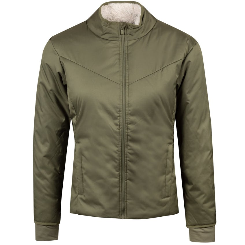 Womens Warm Filled Repel Jacket Medium Olive - AW20