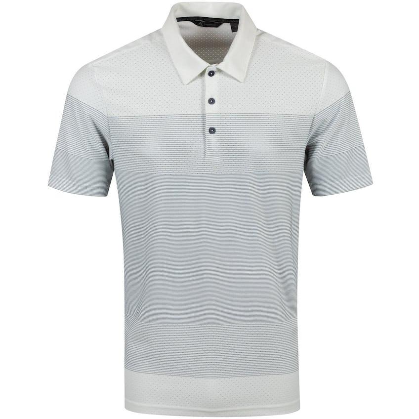 Adicross Warp Knit Polo Shirt White/Midnight Grey - AW20