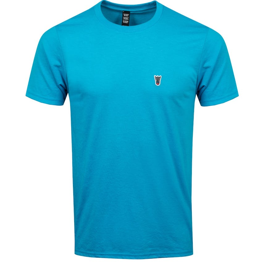 Birdie Patch Tee Turquoise - AW20