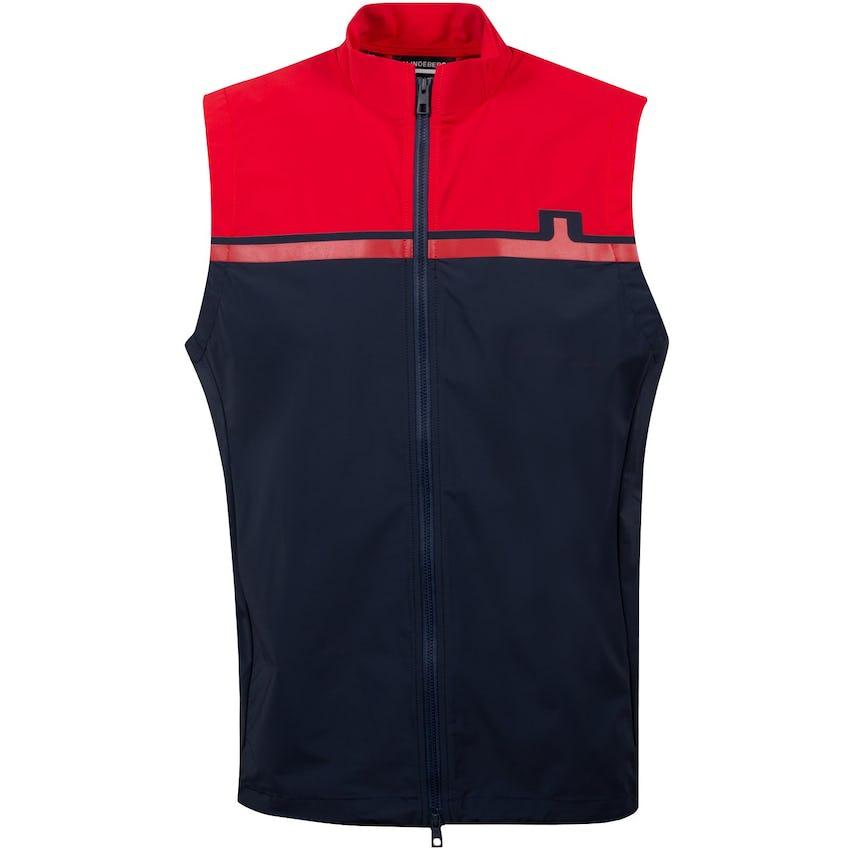 Blocked Logo Vest Red Bell - AW20
