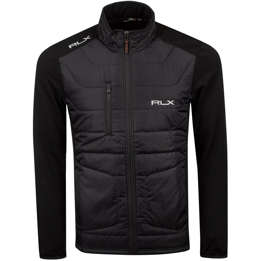 Coolwool LS Full Zip Polo Black - 2021