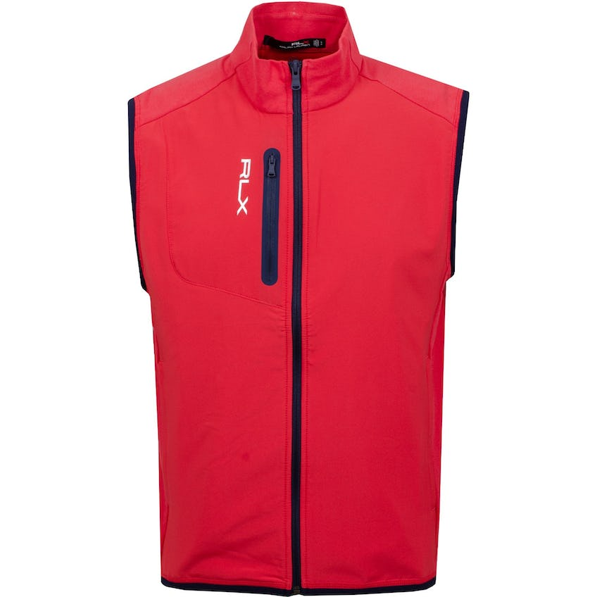 Tech Terry FZ Vest Sunrise Red -SS21