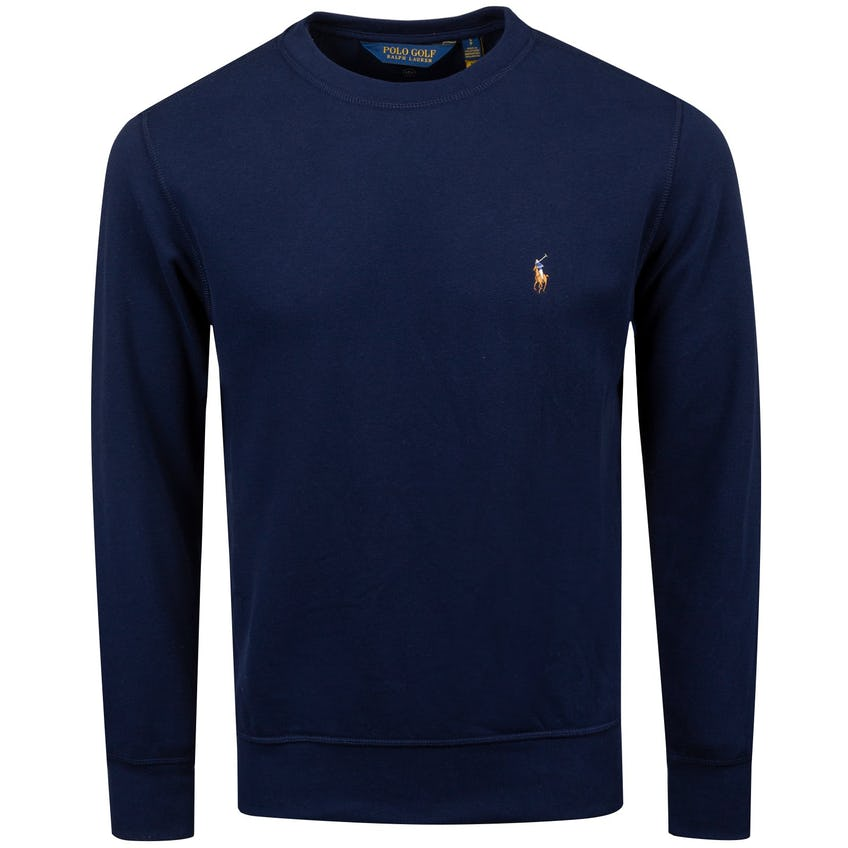 Clubhouse Crewneck Pullover French Navy - AW20