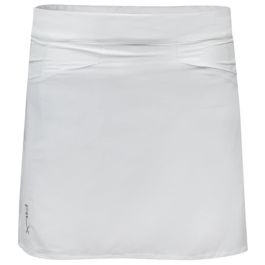 Womens Back Pleated Skort Pure White - 2021