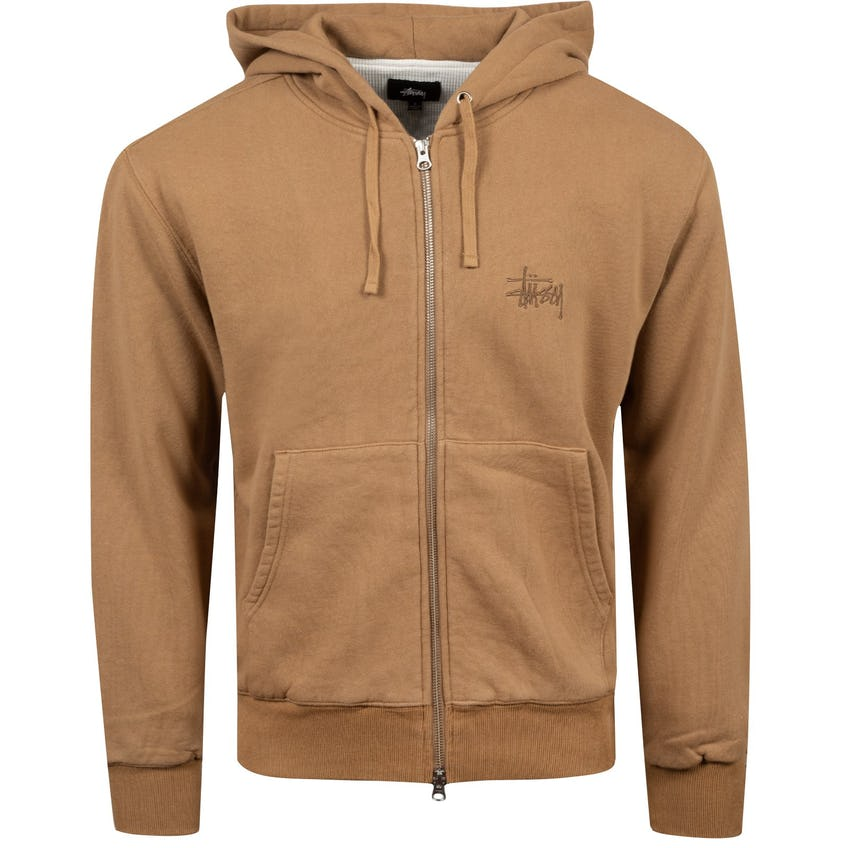 Thermal Zip Hoodie Brown - AW20