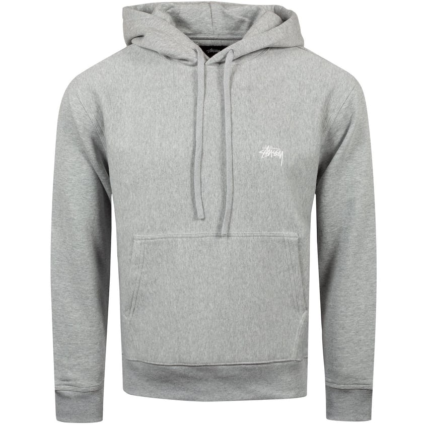 Stock Logo Hoodie Grey Heather - 2021