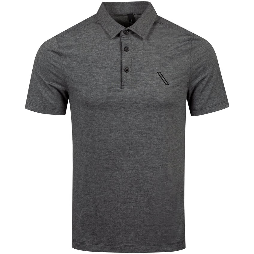 x TRENDYGOLF Evolution Polo Heathered Black - 2021