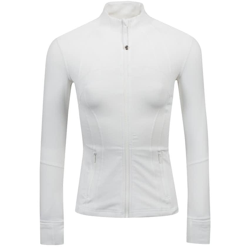 x TRENDYGOLF Womens Define Jacket White - 2021