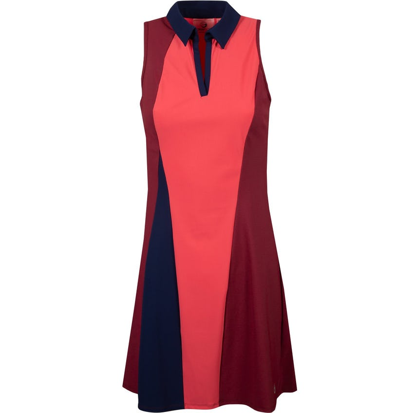 Foray Womens Birds In Paradise Colorblocked Tall Dress Pink - AW20