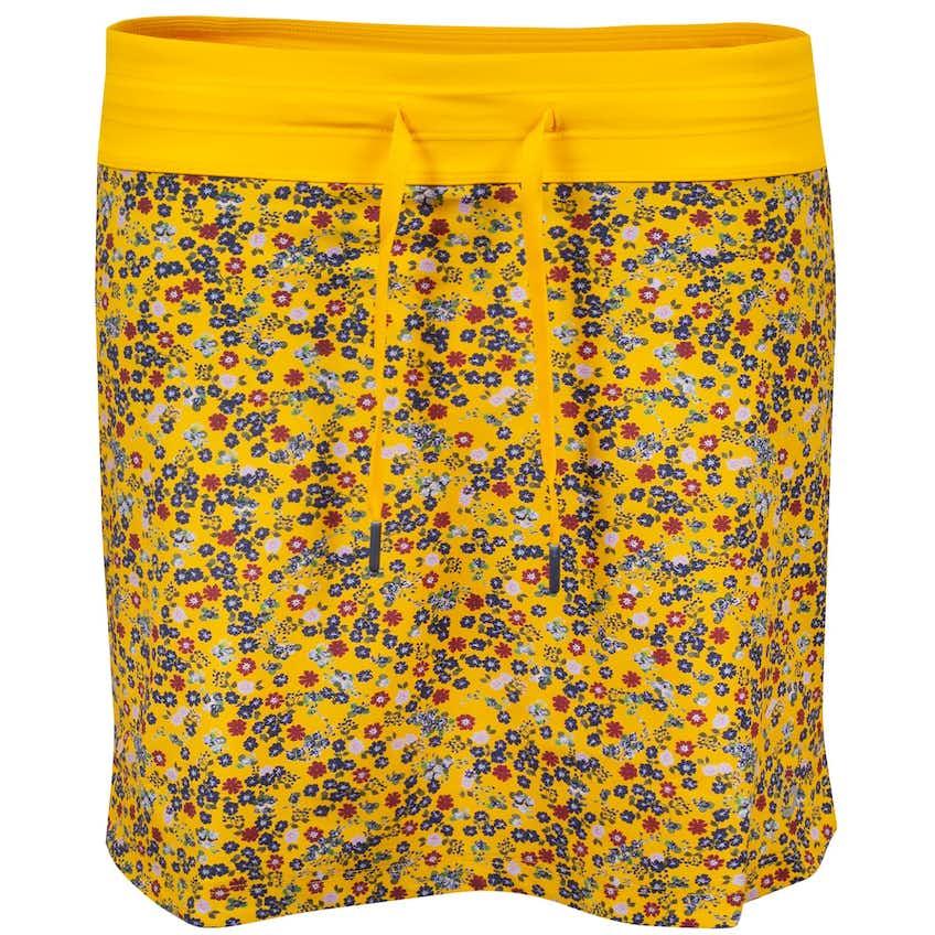 Foray Womens Ditsy Blitz Print Skirt Yellow - AW20