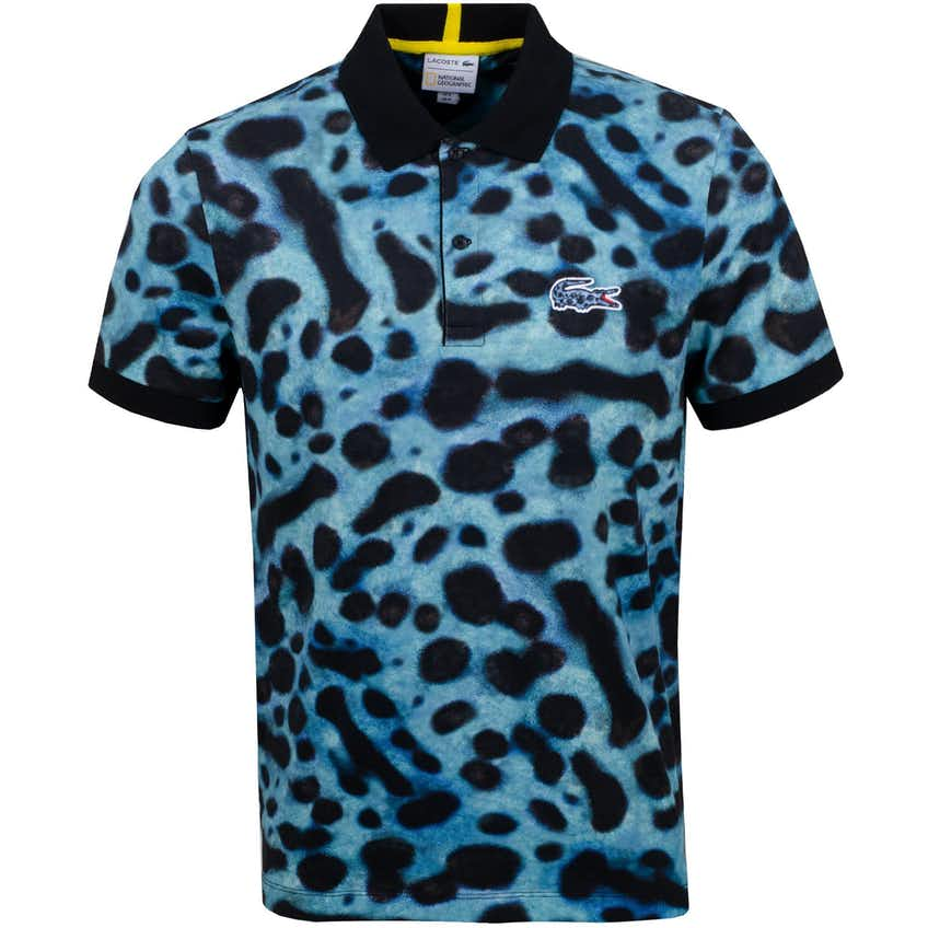 x National Geographic Frog Print Polo - AW20