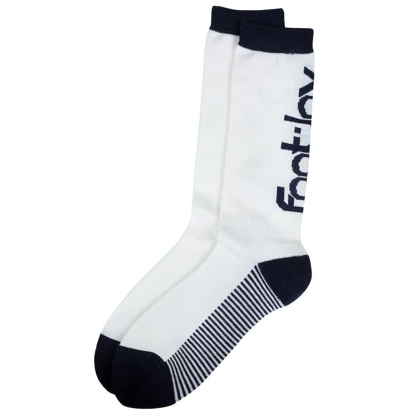 ProDry Fashion Crew Sock White/Navy - 2021