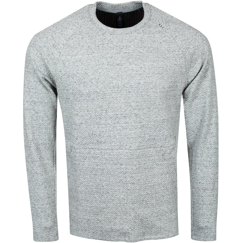 x TRENDYGOLF At Ease Crew Heathered Melody Light Grey/Black - 2021 0
