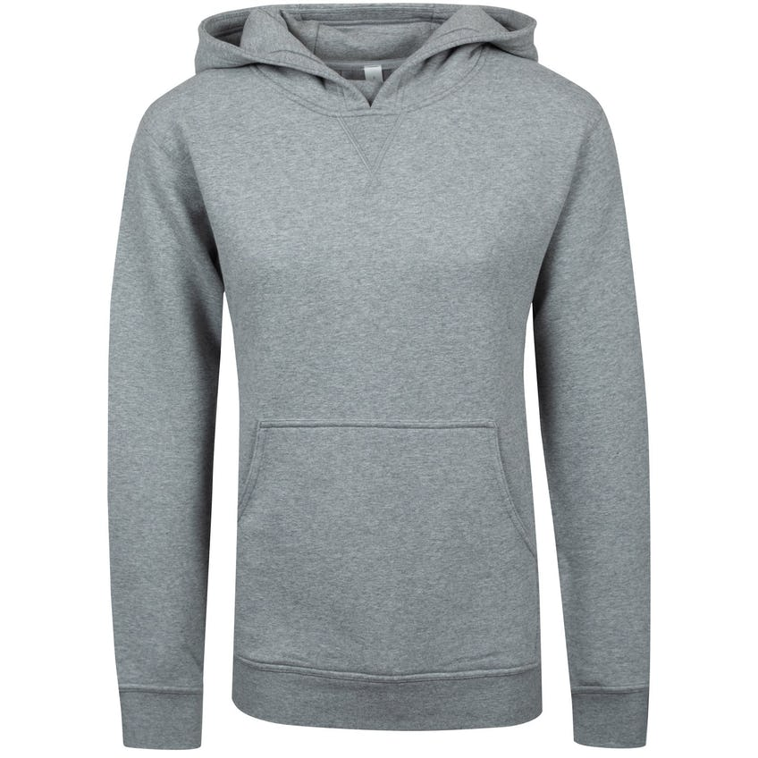 x TRENDYGOLF Womens All Yours Hoodie Heathered Core Medium Grey - 2021