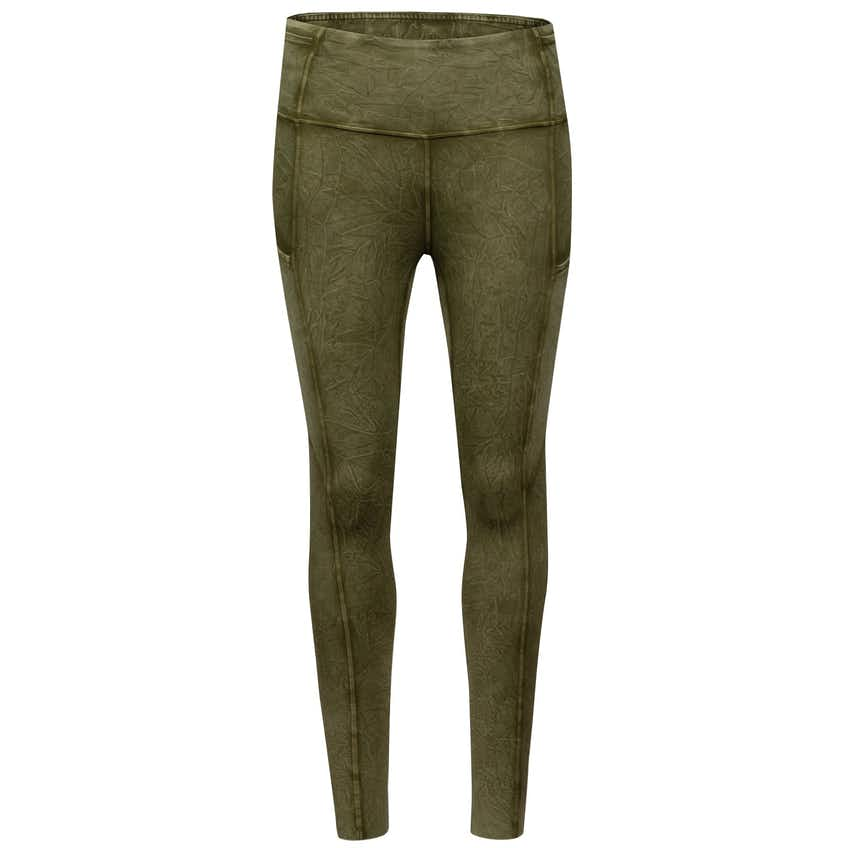 """x TRENDYGOLF Womens Fast and Free Tight II 25"""" Non-Reflective Ice Wash Moss Green - AW20"""