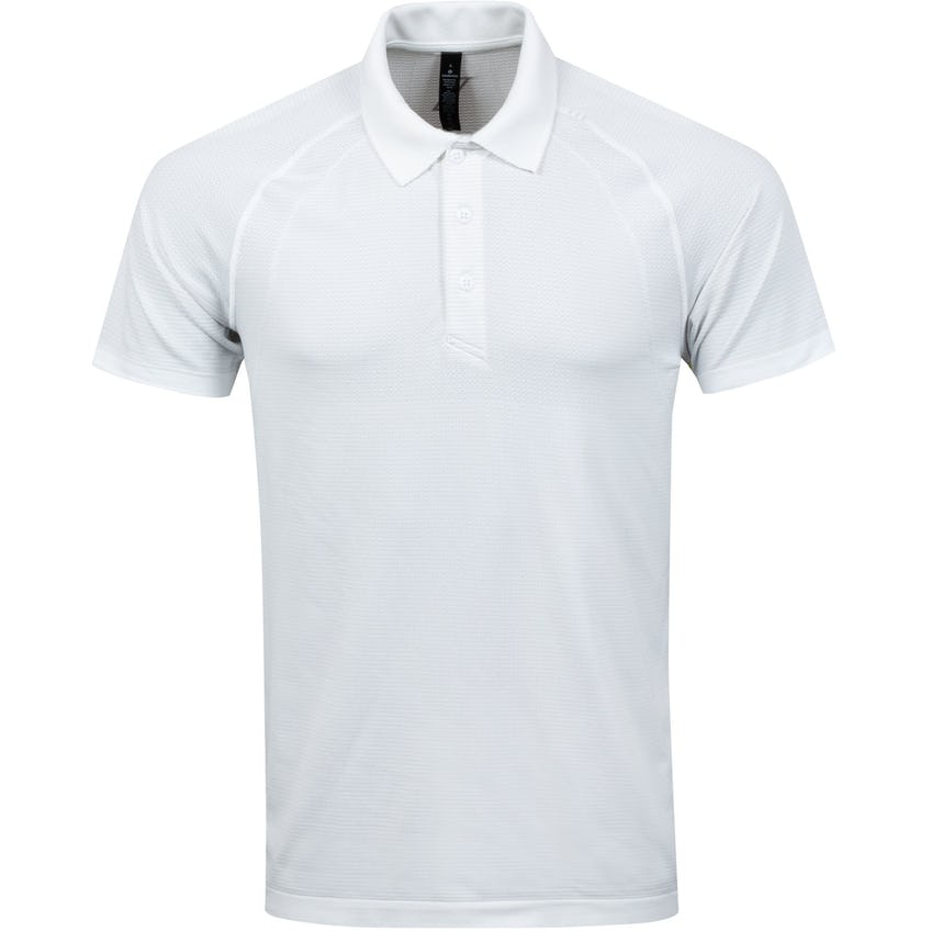 x TRENDYGOLF Metal Vent Tech Polo 2.0 White - 2021