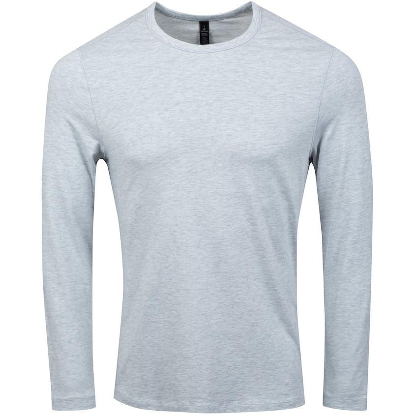 x TRENDYGOLF 5 Year Basic Long Sleeve Tee Heathered Core Ultra Light Grey - 2021