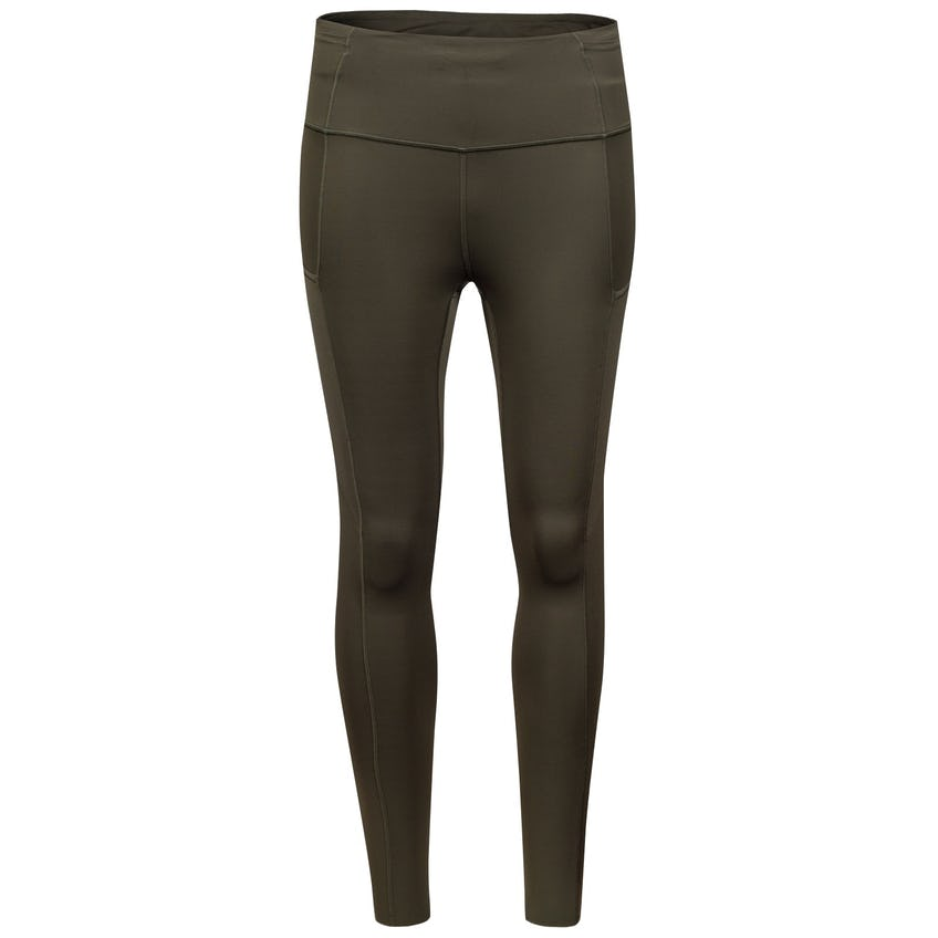 """x TRENDYGOLF Womens Fast and Free Tight II 25"""" Non-Reflective Nulux Dark Olive - 2021 0"""
