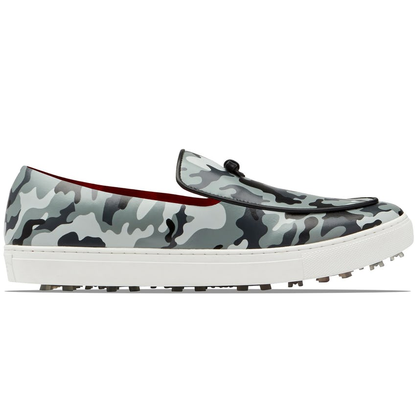Camo Belgian Loafer Charcoal - SS21