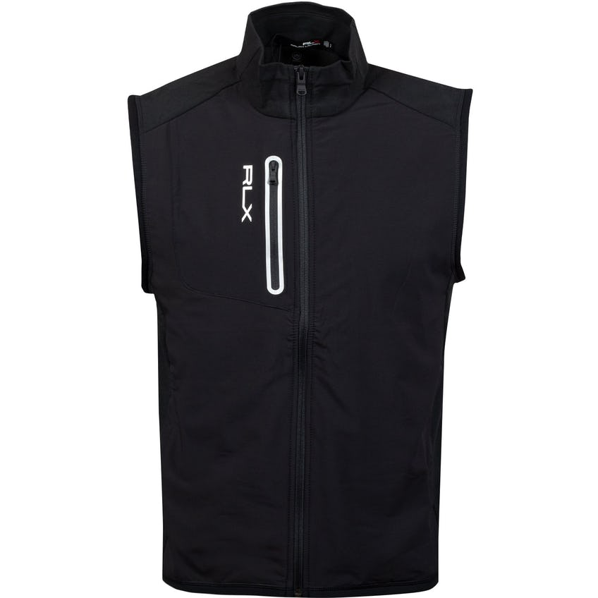 Tech Terry Vest Polo Black - SS21