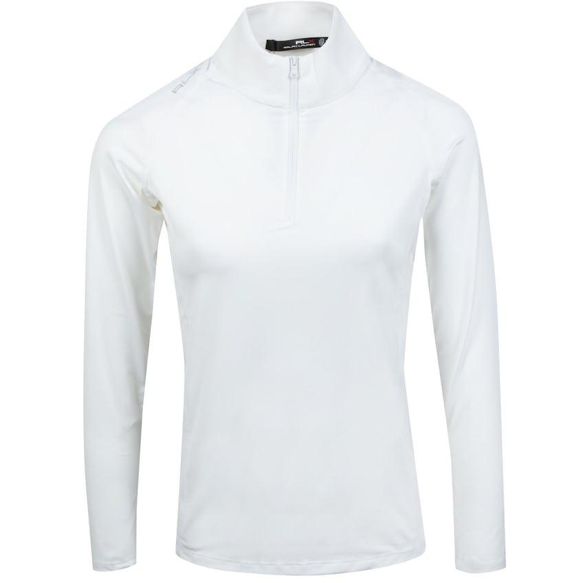 Womens Long Sleeve UV 1/4 Zip Pure White - SS21 0