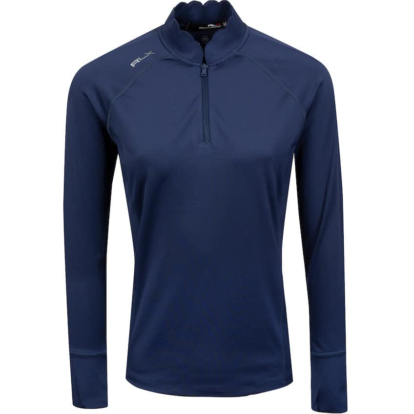 Womens Powerstretch Jersey 1/4 Zip French Navy - SS21