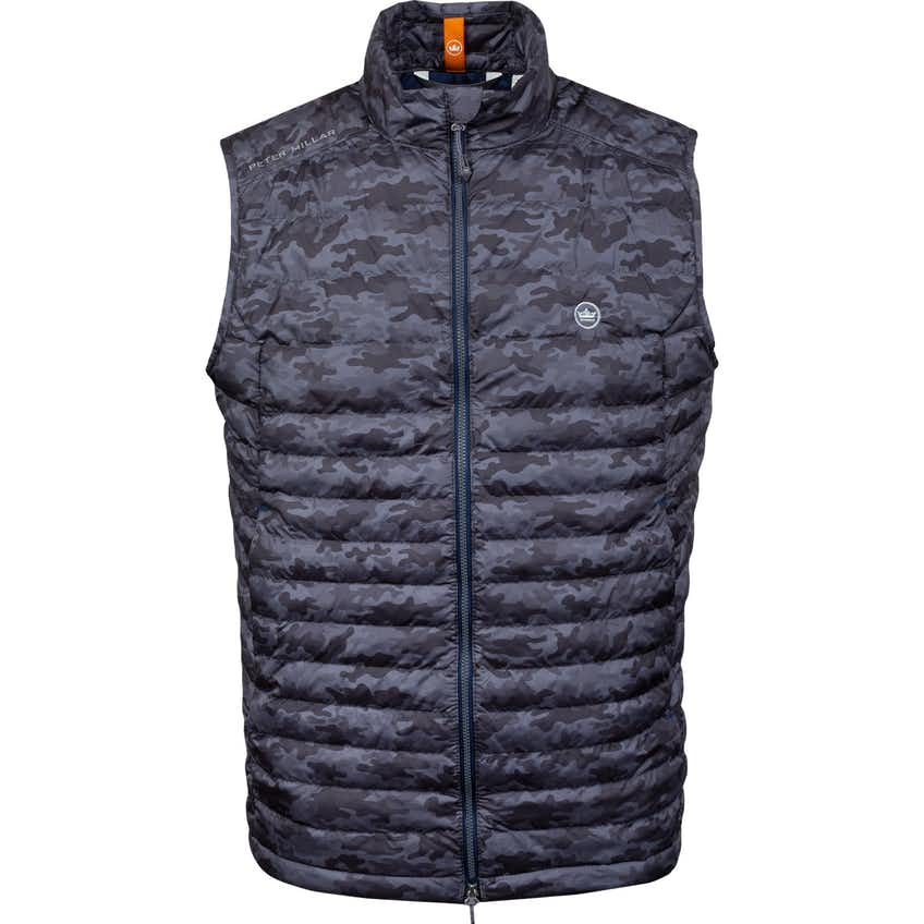 HyperLight Quilted Camo Vest Iron - SS21
