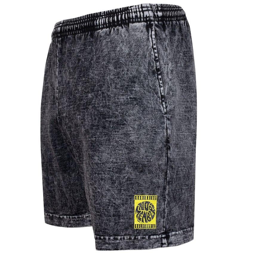 Stone Wash Shorts Black - SS21