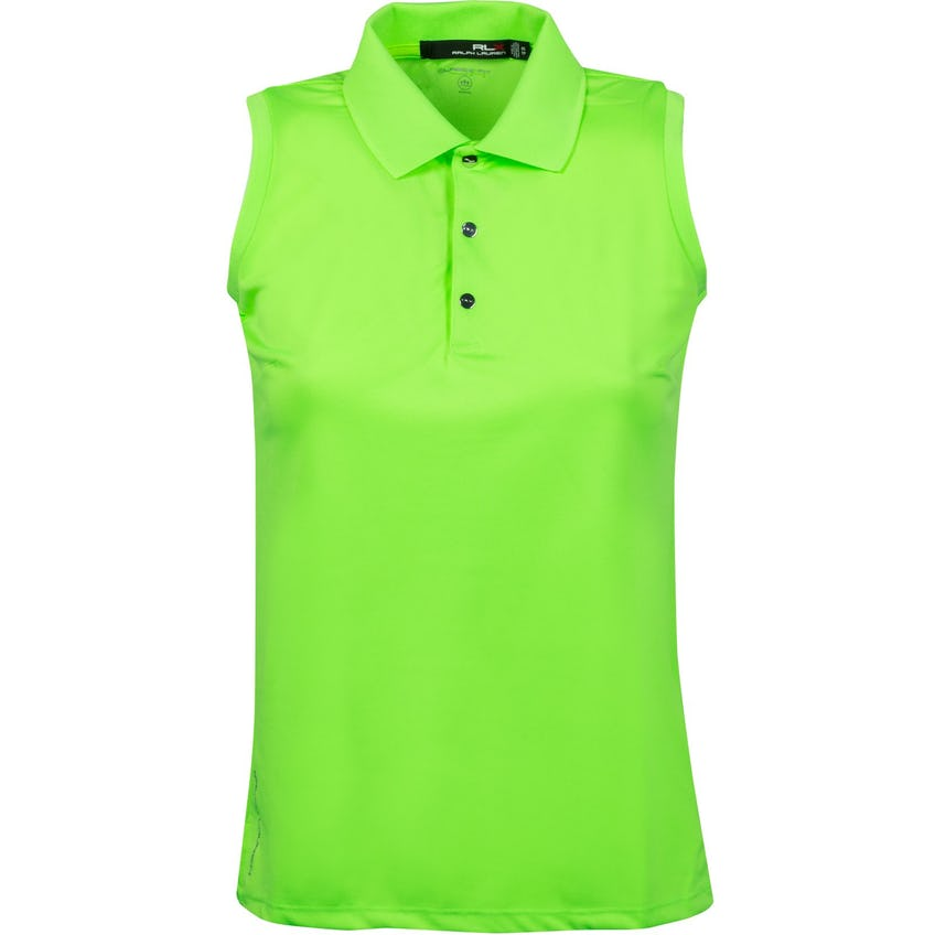 Womens Sleeveless Tournament Polo Brilliant Lime - SS21
