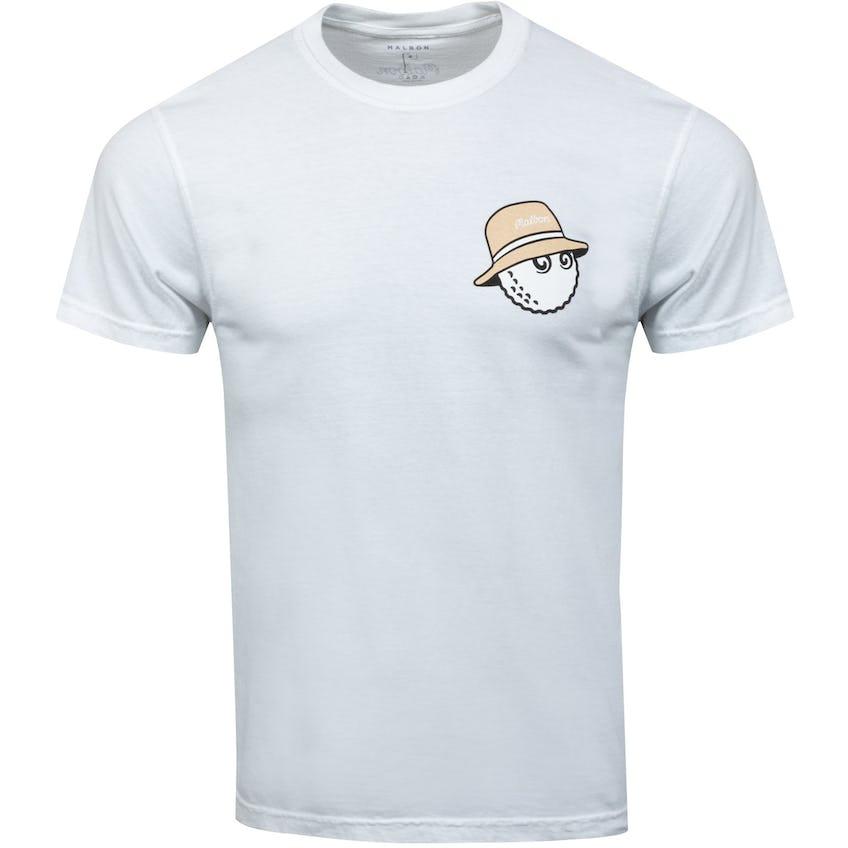 TRENDYGOLF X Malbon Buckets T-Shirt White - SS21