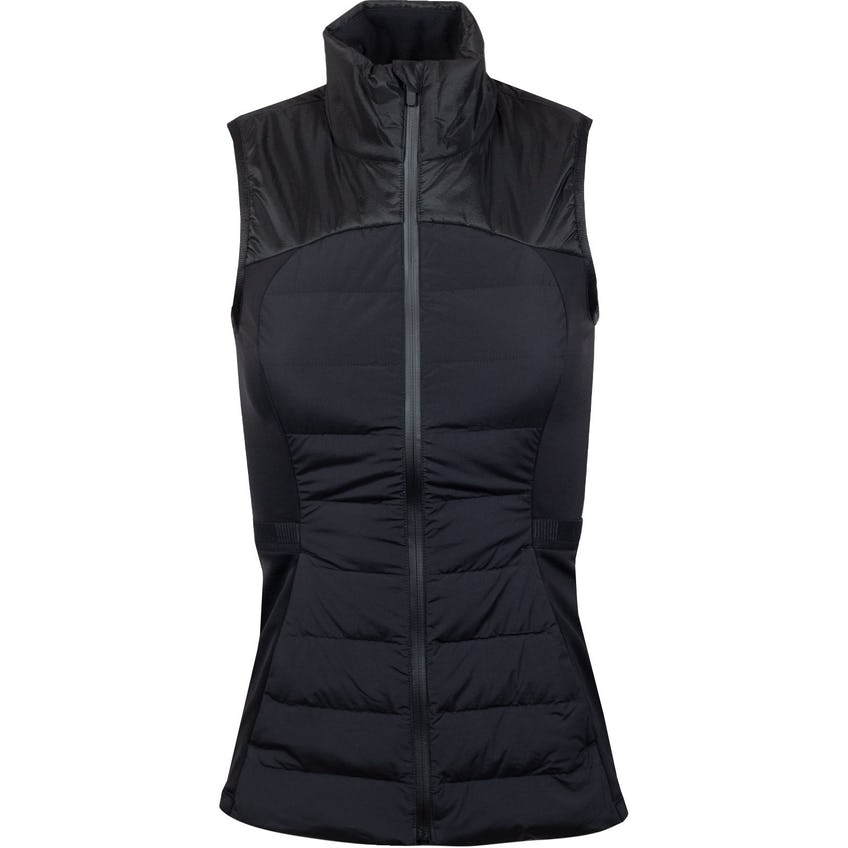 x TRENDYGOLF Womens Down For It All Vest Black - 2021