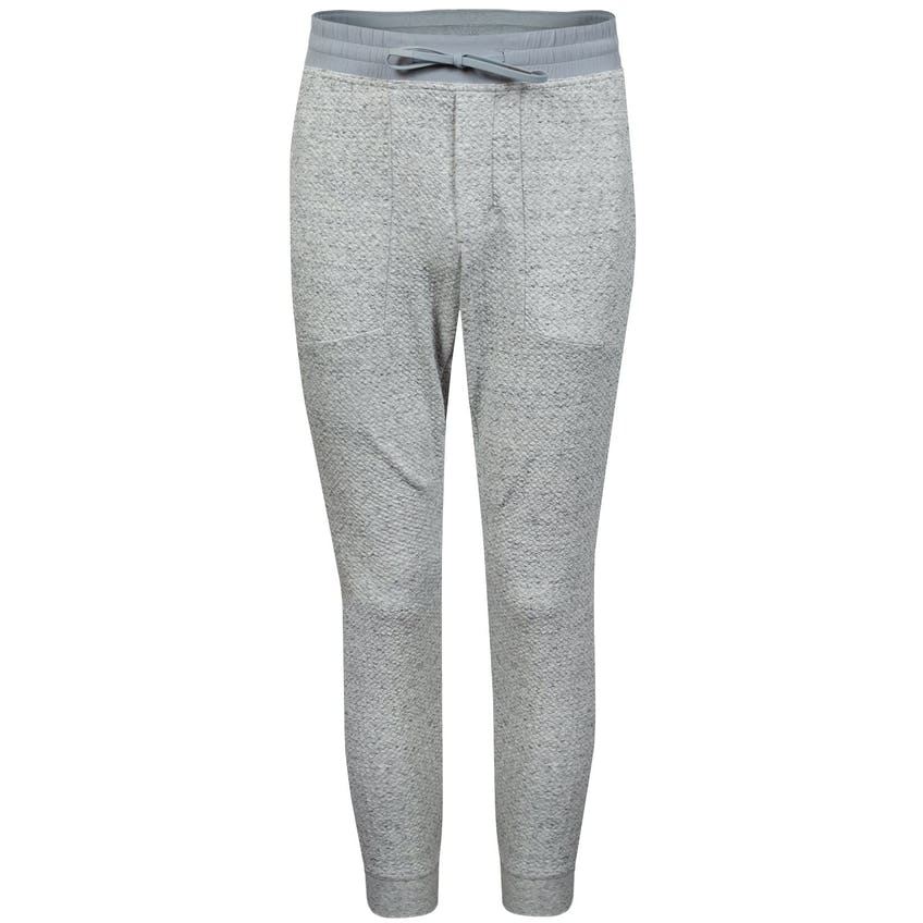 x TRENDYGOLF At Ease Jogger Heathered Melody Light Grey/Black - SS21