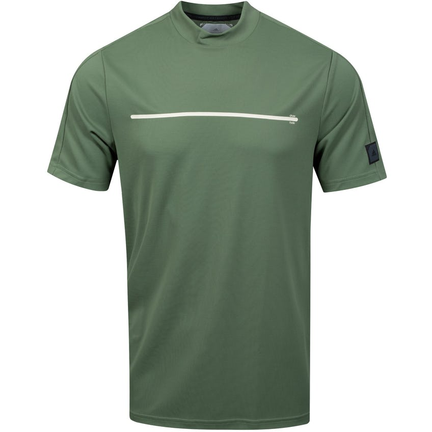 Adicross Round Neck Polo Natural Green - SS21