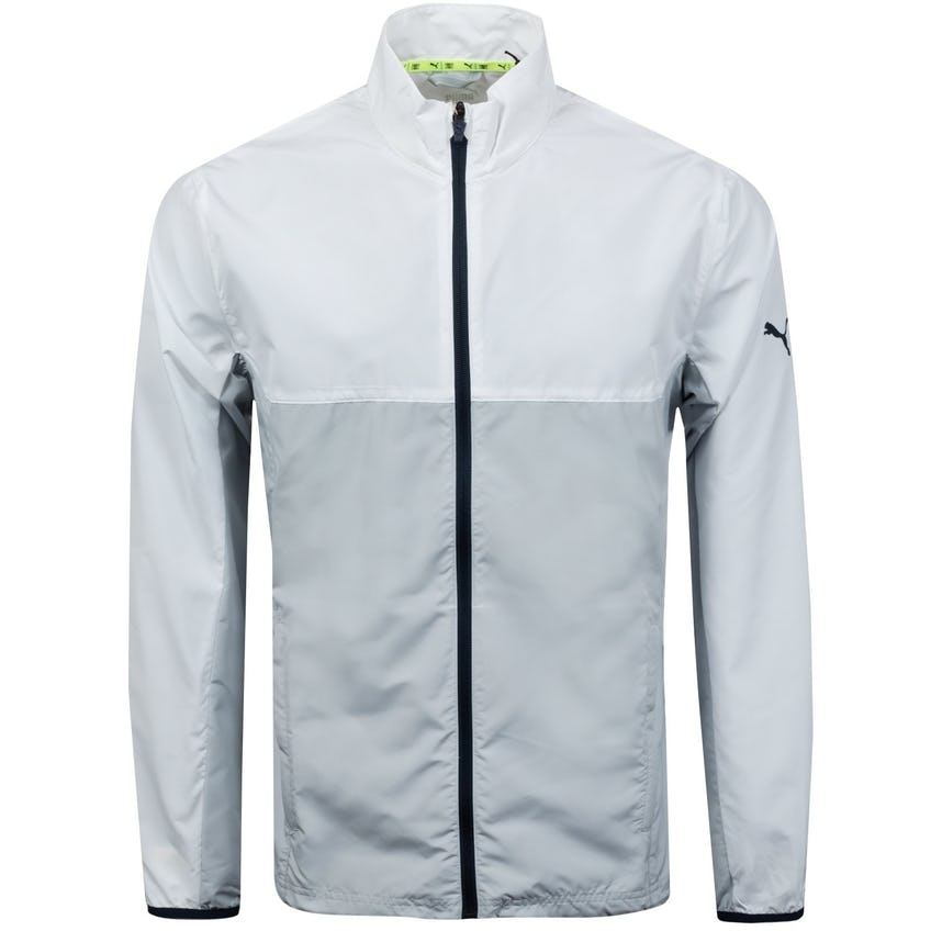 First Mile Wind Jacket Bright White/High Rise  - SS21