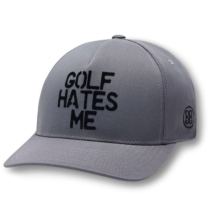 Golf Hates Me Snapback Cap Charcoal - SS21