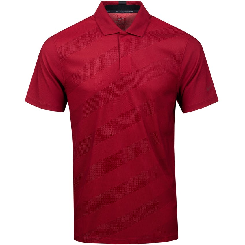 TW Dry Stripe Polo Team Red - SS21