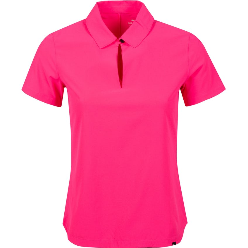 Womens Flex UV Ace SS Polo Hyper Pink/White - SS21