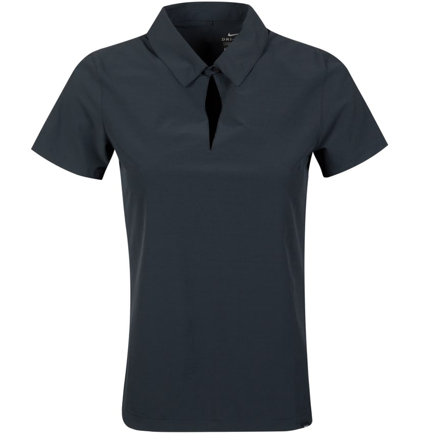 Womens Flex UV Ace SS Polo Black/White - SS21