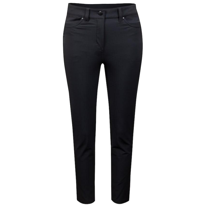 x TRENDYGOLF Womens City Sleek 5 Pocket Pant 7/8 Black - SS21